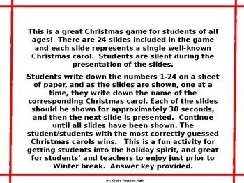 Holiday Activity: Winter