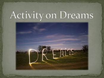 Activity on Dreams