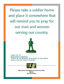 Activity on thinking and praying for our men and women in the Armed Forces