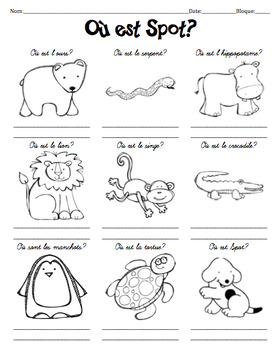 Activity/questions for OU EST SPOT--perfect practice for PREPOSITIONS