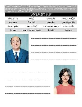 Activity/questions for the film: LE PETIT NICOLAS