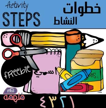 Activity steps - خطوات النشاط