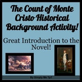 Activity to Introduce the Historical Background of the Count of Monte Cristo