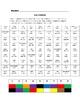 Spanish Colors Activity Based on Sudoku