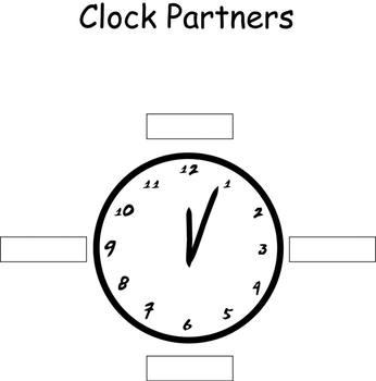 Activity:Creating a Clock Graphic Organizer