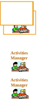 Activtities Manager Student Badges