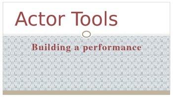 Actor Tools Presentation