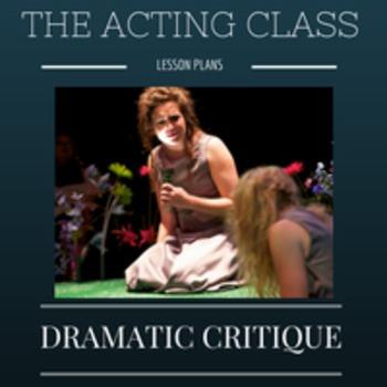 Actor's Critique of Live Performance