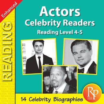 Actors: Celebrity Readers - Enhanced