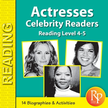 Actresses: High-Interest / Low Readability Biographies