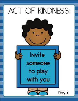 Acts of Kindness 1-Day Challenge for Free