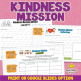 Acts of Kindness Activity - Printables & Google Slides Worksheets