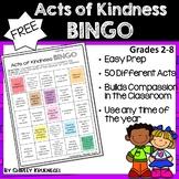 Acts of Kindness Bingo