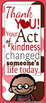 Acts of Kindness Bookmarks!