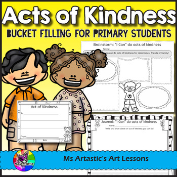 Acts of Kindness and Bucket Filling Activities