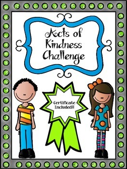 Acts of Kindness Challenge