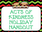 Acts of Kindness Christmas