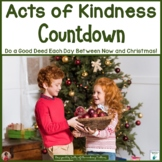 Acts of Kindness Holiday Countdown