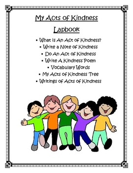 Acts of Kindness Lapbook