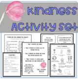 Kindness Activity Set: A Lesson on Acts of Kindness