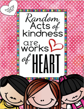 Acts of Kindness Motivational Bookmarks and Posters Bundle
