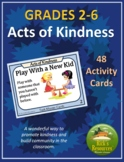 Random Acts of Kindness in the Classroom Student Task Cards - EDITABLE