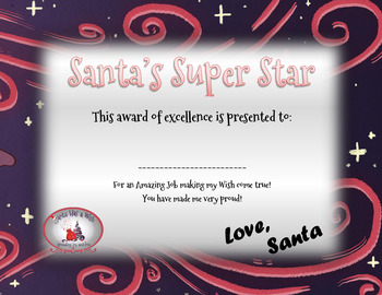 Acts of Kindness and Cheer - Santa Has a Wish - Christmas/Holiday Fun