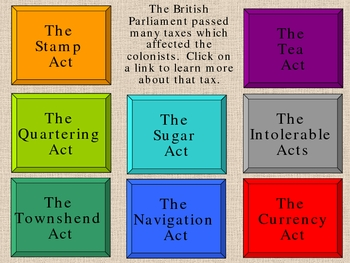 Acts of Parliament Power Point