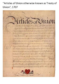Acts of Union 1707 Handout