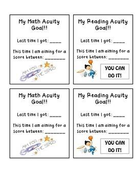 Acuity Goal Sheet