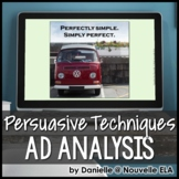 Ad Analysis Review - Persuasive Techniques & Media Literacy