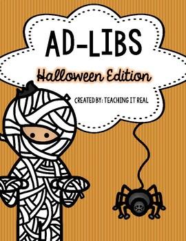Ad-Libs (Halloween Edition)
