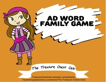 Ad Word Family Game