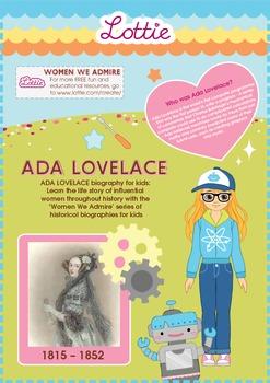 Ada Lovelace Biography for Kids