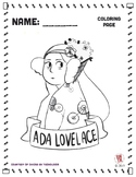 Ada Lovelace Coloring