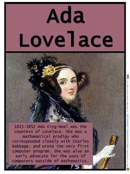 Ada Lovelace (Women in Science #2)