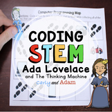 Ada Lovelace and the Thinking Machine Women's History Month Coding Activity