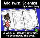 Ada Twist, Scientist ~ A week of reading activities ~ comprehension pack