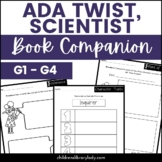 Ada Twist, Scientist by Andrea Beaty Graphic Organizer Com