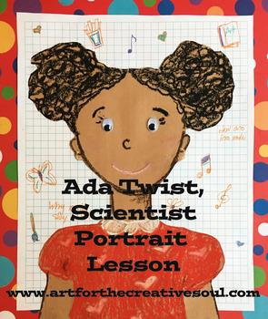 Ada Twist Scientist Inspired Portrait Lesson
