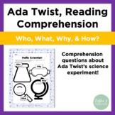 Ada Twist, Scientist Reading Comprehension
