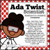 Ada Twist, Scientist: Reading Comprehension and STEM Activity