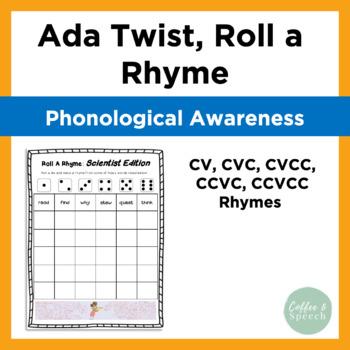 Ada Twist, Scientist   Roll a Rhyme