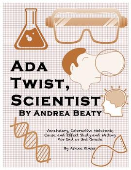 Ada Twist, Scientist - Vocabulary, Cause and Effect, Gramm