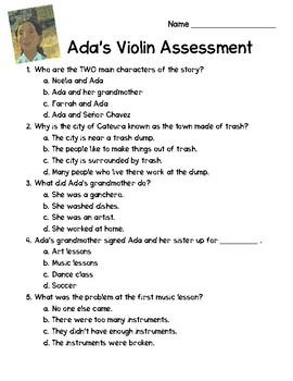 Ada's Violin Comprehension Test