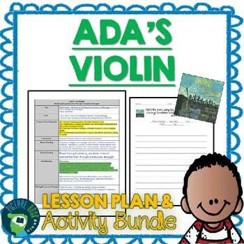 Ada's Violin by Susan Hood Lesson Plan & Activities