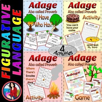 Adage Bundle, Activity, Writing, and Games
