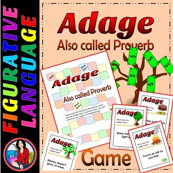 Adage or Proverb Game