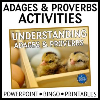 Adages and Proverbs PPT and Game