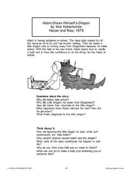 Adam Draws Himself a Dragon (Chapter Book)